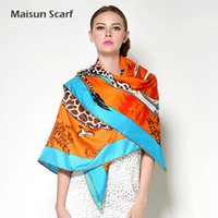 Wholesale animal design stylish fashion scarf and shawl