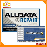Wholesale Hot sales Latest Alldata auto repair Software mitchell ondemand all data with GB HDD