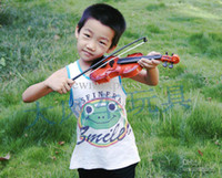 Wholesale baby props violin instrument toy for kids learn musical High Quality