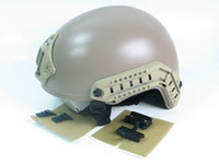 Wholesale Special Forces helmet ACH Helmet W NVG Mount amp Side Rail Head Loc RS Tan
