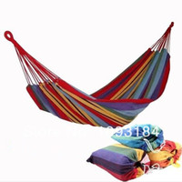 other bn-031 outdoor furniture 280*80cm bearing 120kg outdoor camping swing thickening large casual canvas hammock