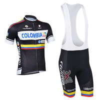 Wholesale 2013 colombia Team Cycling Jersey Cycling Wear Cycling Clothing short bib suite colombia B
