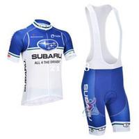 Wholesale 2013 SUBARU Team Cycling Jersey Cycling Wear Cycling Clothing short bib suite SUBARU B