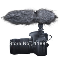Cheap Free shipping New Aputure V-Mic D1 Directional Condenser Shotgun Microphone for Canon 5D Mark II III 6D 60D 70D 7D 650D 600D