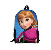 Wholesale 2016 new summer girl backpack frozen children backpacks school bag girl cartoon backpacks