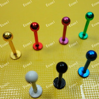 Navel & Bell Button Rings Unisex Alloy G 30pcs wholesale lots Labret Lip Body Pierce Nipple Navel Belly Eyebrow Bar Rings tongue rings lip piercing LR339