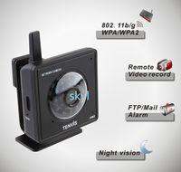 Wholesale Mini Wireless IP Camera Audio Webcam Night Vision Ir Leds Indoor Webcam Tenvis W White Black hot sale