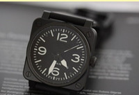 bell movement - NEW bell Automatic Movement Men s watch best Watches ross Rubber strap b33
