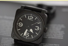 Wholesale NEW bell Automatic Movement Men s watch best Watches ross Rubber strap b33