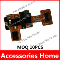 For LG   MOQ 10PCS Audio Headphone Jack Flex Cable For LG Google Nexus 4 E960