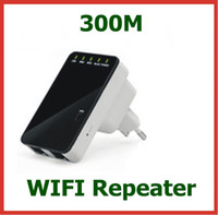 Wholesale Wireless N WIFI Repeater N B G Network Router Range Expander Antennas Signal Boosters for WLAN Network Wireless Repeater