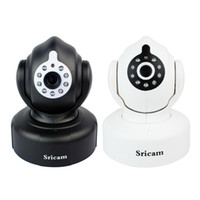 Wholesale New P WIFI Wireless IP Camera Indoor Motion Night Vision Free DDNS Smartphone P2P IR CUT Waterproof F4100