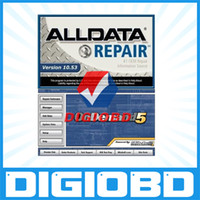 Wholesale 2014 new arrival Alldata Mitchell Ondemand auto repair software in GB HDD DHL