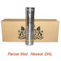 Wholesale Panzer Mod Mechanical Mod Stainless Steel black hawk panzer mod by MCV Philippines Clone panzer mod for dry battery Electronic Cig mod