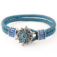 Wholesale a19470 noosa bracelet genuine leather noosa bracelets fashion jewelry