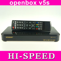 Receivers DVB-S  2pcs Original Openbox V5S HD PVR digital satellite receiver Skybox F5S HD set top box with youtube youporn freeshipping