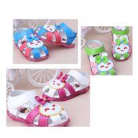 Wholesale Cute smiley lady sandals Princess emitting sole sandals Drop shipping shoes sale china shoes shoes shop OUTLETS pairs LQ