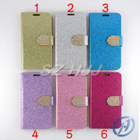 For Samsung Galaxy S5 Diamond Leather Case with Credit Card ...
