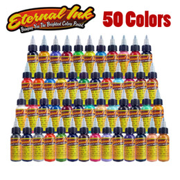 Wholesale New Tattoo Ink Colors Set oz ml Bottle Tattoo Pigment Kit
