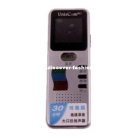 Wholesale Genuine Purple ZD508 dual channel high definition professional voice recorder remote timer recording MP3
