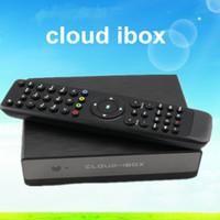 Receivers DVB-S Black Cloud ibox Full HD DVB-S2 Satellite Receiver Enigma 2 CLOUD-IBOX Mini VU+ Solo Youtube IPTV channels free shipping