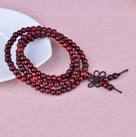 Wholesale Hot selling Sandalwood Buddha Bead Buddhist Lucky Stretchy Bracelet for Unisex other color to choose
