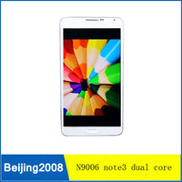 Wholesale Perfect quot N9006 Note phone MTK6572W M G G dual camera dual core Android