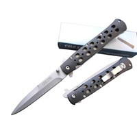 abs cutting sheet - Cold steel Folding survival knives cm C HRC blade Sheet steel ABS plastic handle outdoor gear pocket knife cutting tool best gift L