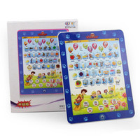 Baby alphabet dolls - New Design Children Ipad laptop computer Learning machine toys Kids table farm Funny Dolls