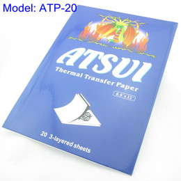 Wholesale 20 Sheets ATSUI Tattoo Carbon Stencil Thermal Transfer Paper Supply ATP