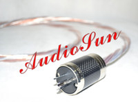 Cable US plugs 1.5M Acrolink Silver Plated+Telfon Copper US Power cable For Tube amplifier CD Player 1.5M