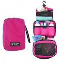 13*20*5cm bag mate - Travel Mate Bag Cosmetic Bags Storage Pouch Purse Travel Cosmetic Bag Organizer Handbag Nylon Dual Zipper Makeup Bags