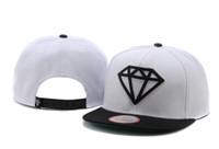 Wholesale Diamond hats strapbacks hip hop Snapback Hat Mens Sports Hats Blank cap Snapbacks Panel caps New Design Men Hat Discount