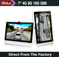 "Hot iRuLu Q88 7"" Android 4. 2 4GB 8GB 16GB RK3026 Tablet..."