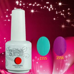 Wholesale Free DHL TNT Shipping ml Gelish Soak Off UV Nail Gel Polish Private Label