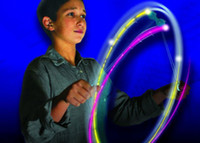 Wholesale 1404c Hot Pics LED Toy FyrFlyz Combo Angel Nytfyr Cyclone FyrFlyz LED Spinning Toy