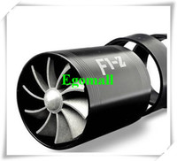 air intake fan - TURBO F1 Z Air Intake Fuel Save Fan Universal Fit BLACK turbocharger