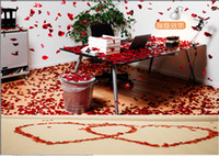 Wholesale 8 off confetti new arrival cheap OUTLETS Creative wedding decoration rose Simulation petals DROP SHIPPING Silk petals bags