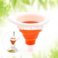 Wholesale It woo Kitchen oil funnel multifunction telescopic funnel retractable folding funnel