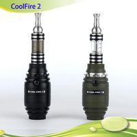 Single Black  Original Vapes Innokin Cool Fire II Starter Kit Innokin Coolfire 2 Kit Cool Fire2 Kit PK iTaste MVP Free DHL