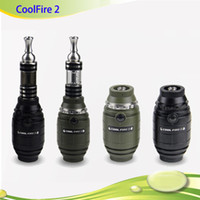 Single Black  2014 New Original Vaporizer Innokin Cool Fire II Starter Kit Innokin Coolfire 2 Kit Cool Fire2 Kit with Huge Vapor Free DHL