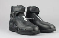 Leather motocross boot - Free ship motorcycle Racing Boots Motocross Boots Motorbike boots SIZE White