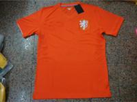 Un+++ Top Tailandia Internacional De La Copa Del Mundo De 2014 De La Nueva Casa De Holanda Kit Lejos De Holanda, Soccer Jersey, Camisetas De Futbol Uniformes
