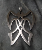 Pendant Necklaces american axe - Stainless steel Men s Jewelry Large AMB Axe Murder Boyz Charm Pendant NEW ICP Twiztid Insane Clown Posse