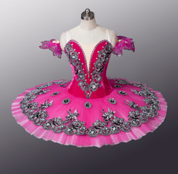 Wholesale!Rose Red adult Ballet Tutu,Adult Ballet Stage Costumes,classical ballet tutu,professional ballet tutu BT8973