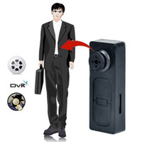 Wholesale HD Mini Button Pinhole Spy Camera Hidden Video Recorder DVR Nanny Camcorder DV