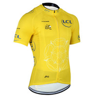 Tops Anti Bacterial Men 2014 Tour De France TEAM ONLY yellow SHORT SLEEVE CYCLING JERSEY CYCLING WEAR SIZE:S-3XL