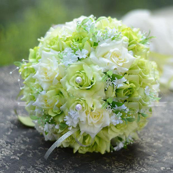 send wholesale silk wedding flowers