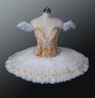 Applique ballet costumes adults - Women Ballet TUTU Adult Classcial Dresses Ballerina Skirt Ballet Professional Tutu Ballet Stage Costumes BT8971