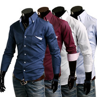 Designer Clothes For Men On Discount Casual Shirt Cotton Men s